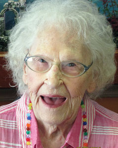 Elsie Amis celebrated her 105th birthday on July 5, 2013.