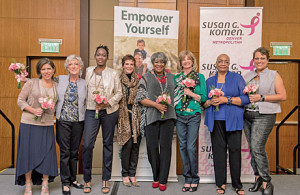 Denver Metropolitan Affiliate of Susan G. Komen and Cancer Treatment Centers of America teamed up to Celebrate Survivors with a Fashion Show.