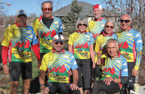 """S.O.B.s"", or Seniors On Bikes."
