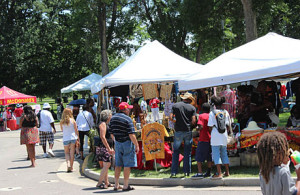 The Colorado Black Arts Festival celebrates its 28th annual event on July 11-13, 2014 at Denver's City Park West.