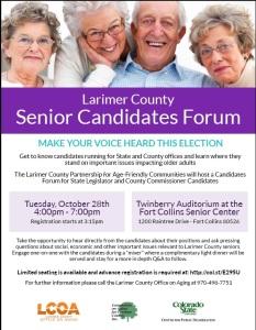 Larimer County Senior Cadidates Forum