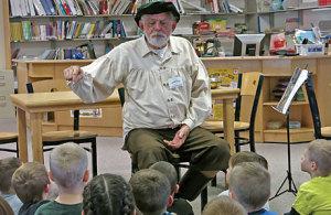 John Turek (a.k.a. Little Big John), 79, is a Spellbinders Storyteller.