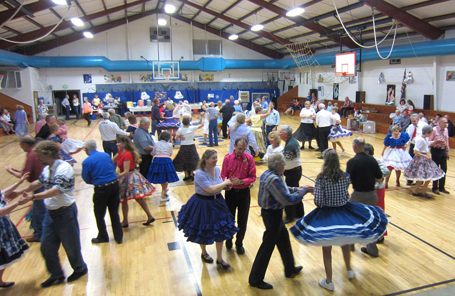Square Dancing In Lyons