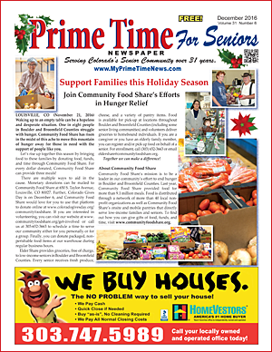 Prime Time For Seniors December 2016 Print Edition
