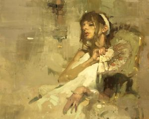 Jeremy Mann's Note In Pale Yellow No 3