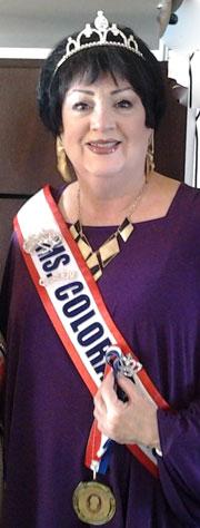 Sylvia Boyd, Ms. Colorado Senior America 2016