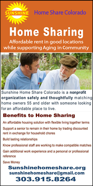 Sunshine Home Share Colorado