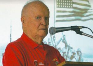 Jack Thurman Iwo Jima Veteran who took part in the famous flag raising on Iwo Jima.