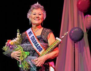 Jeannine Montgomerie, Ms. Colorado Senior America 2017.