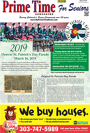 Prime Time For Seniors March 2019 Print Edition