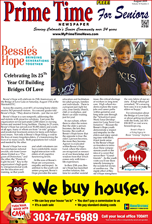 Prime Time For Seniors August 2019 Print Edition