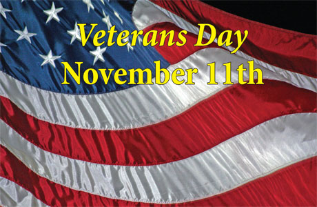 Veterans Day - November 11