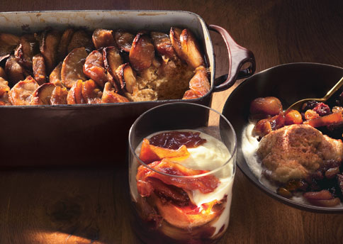 Apple Maple Bread Pudding