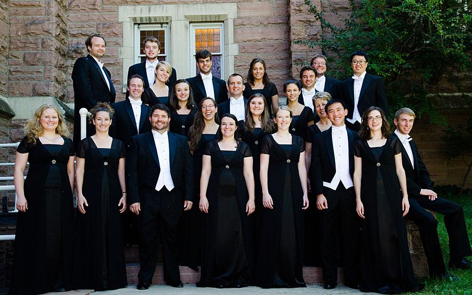 University Singers Chamber Choir from CU Boulder