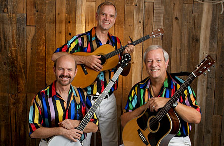 The Kingston Trio will perform live at the Paramount Theatre on April 26, 2014.