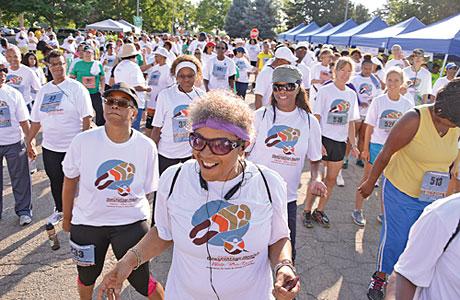 The 2013 Destination Health: Walk/Run/Learn.