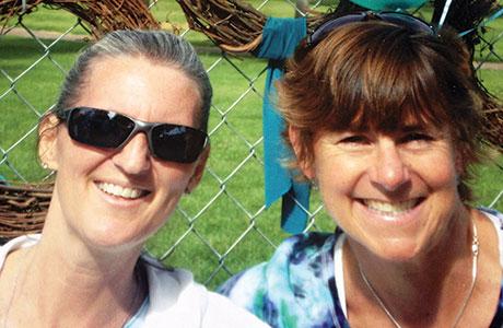 Jodi Brammeier and Jennifer Manta.
