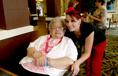 Residents and Staff Celebrate National Recognition at Sandalwood on July 25, 2014