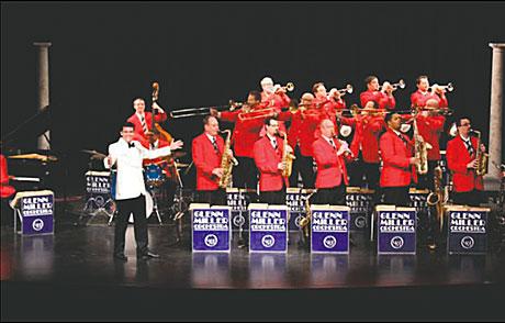 The world famous Glenn Miller Orchestra.