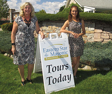 Tours of the Eastern Star Masonic Retirement Campus are now available so prospective residents can view the entire Barry building. The Grand Opening is scheduled for Saturday, November 22 from 2-5pm.