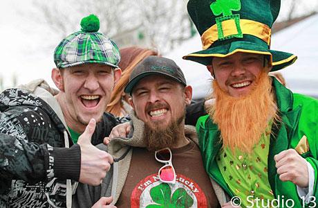 St. Patrick's Day Festival in Olde Town Arvada