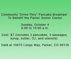 Parker Senior Center Benefit
