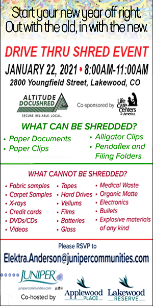 Drive Thru Shredding Event